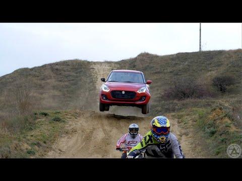 How It's Made: Suzuki Swift vs Dirtbikes /English subtitle!/