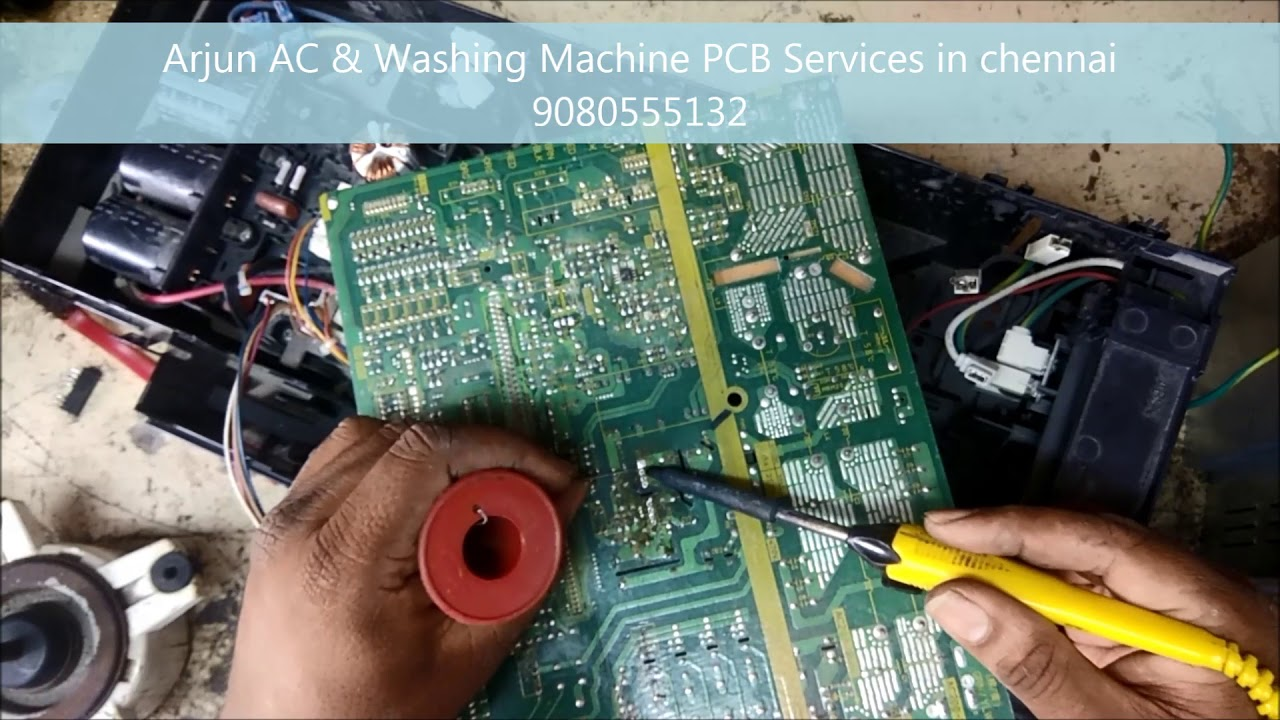 Daikin Inverter AC PCB U4 Error Code Outdoor PCB Fault on