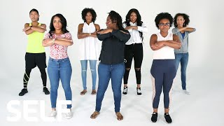 Baltimore Step Team Challenges Dancers to Keep Up With Them | SELF