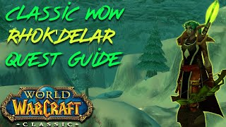 Classic Wow Rhok'delar Guide - Quest chain and demon slaying