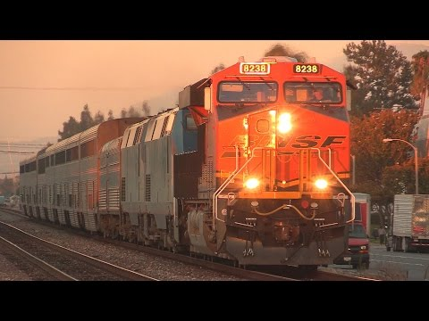 Thumbnail: RARE BNSF GEVO leading Amtrak's Southwest Chief + OTHERS !!! (July 2nd, 2014)