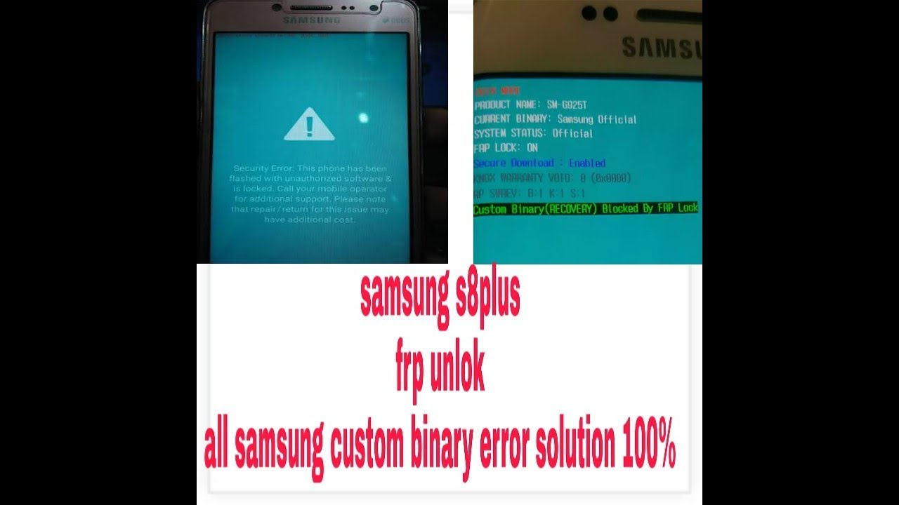 samsung s8 plus frp solution using Z3X ,UMT or OCTOPLUS