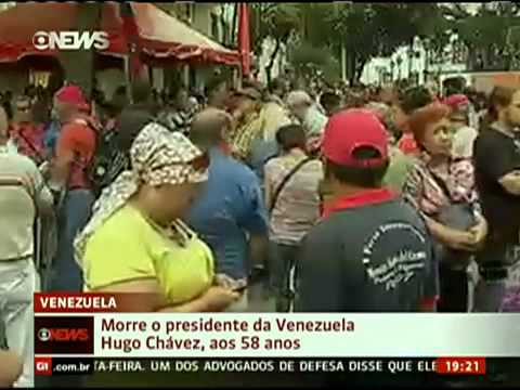 Morre aos 58 anos Hugo Chávez, presidente da Venezuela 5_03_2013