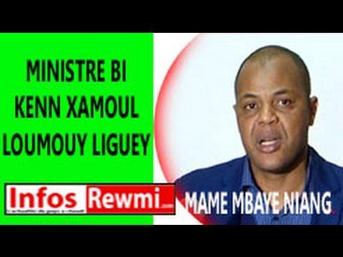 """""""Rée ba tass"""" Lou doy war mo xéw Sénégal ak ministre Macky Sall yi"""