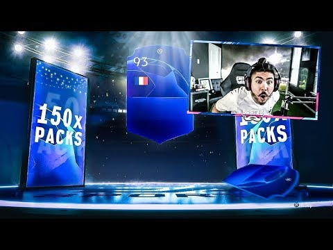 150 x UCL PACKS!! WALKOUTS!! FIFA 19