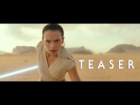 Ayo - First trailer is here: Star Wars Episode IX: The Rise of Skywalker.