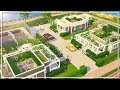 ECO HOME VILLAGE || The Sims 4: Speed Build (NO CC)