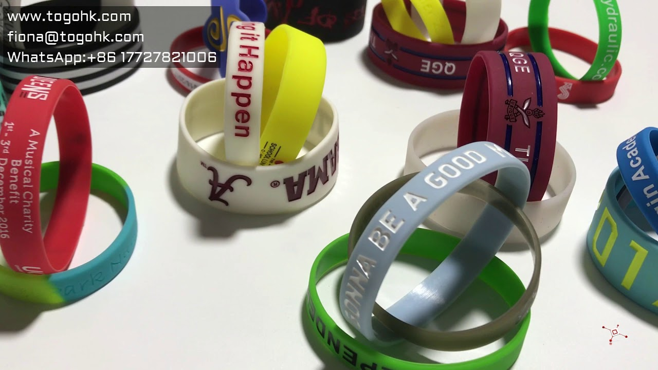 Custom Silicone Wristbands Design Your Own Rubber Bracelets