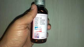 ZyrCold Syrup For productive cough & Allergic Symptoms & review in Hindi by  Medicine Reviews