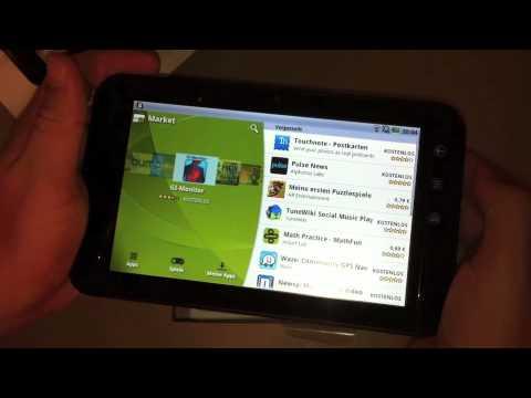 Dell Streak 7 Unboxing + Demo