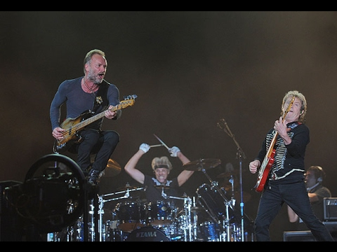 The Police Live Rock In Rio 2008 Madrid