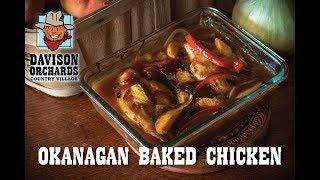 Family Recipes -- Okanagan Baked Chicken
