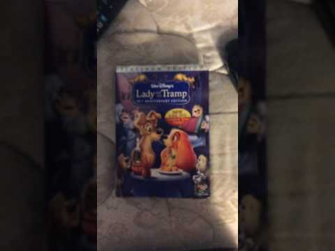Lady and the Tramp Platinum Edition DVD
