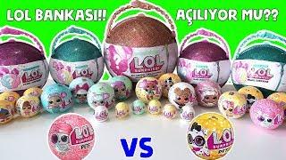 LOL Pets Sürpriz Yumurta Eye Spy 4.Seri vs LOL Confetti Pop Pets Bonuslu Altın Top! Bidünya Oyuncak