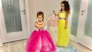 HAFSA PEMBE RENK ELBİSE İSTİYOR - Child want pink dress