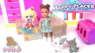 Видео для Детей Shopkins Сюрпризы с Мебелью от Шопкинс Happy Places Мультик Кукла Барби