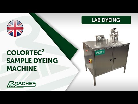 Colortec Sample Dyeing Machine - Textile Dyeing Lab Equipment Manufacturers Roaches International