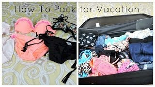 How to Pack For Vacation! Thumbnail