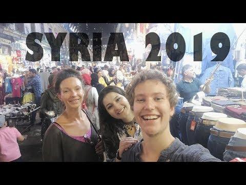 SYRIA Vlog 2019 - Damascus, Zabadani, Bloudan, Krak De Chevaliers رحلتي الى سوريا كأجنبي