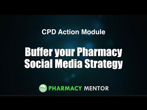Buffer your Pharmacy Social Media Strategy