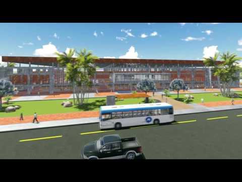 Diseño del Proyecto del Centro Comercial de Chone