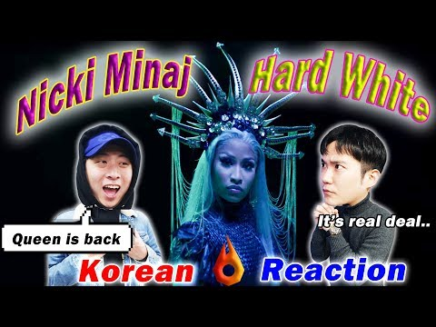 [ENG SUB]🔥🔥 KOREAN BOYS React To NICKI MINAJ - HARD WHITE