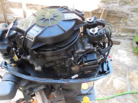 Mariner Mercury 15 HP outboard stalling YouTube