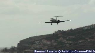 Busy Monday Morning Spotting at Madeira Airport