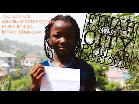 Finah Koroma: In City Pyllar Freetown || Youth Development Sierra Leone | Case Study 11
