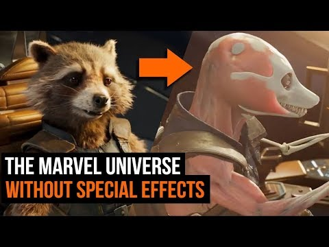 The Marvel Universe Without the Special Effects