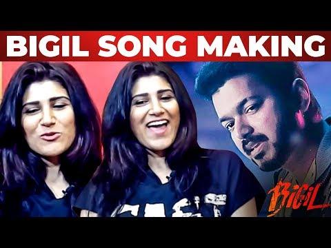 Download Lagu  BIGIL: Singappenne Song Making - Shashaa Tirupati Reveals | Thalapathy Vijay | AR Rahman Mp3 Free