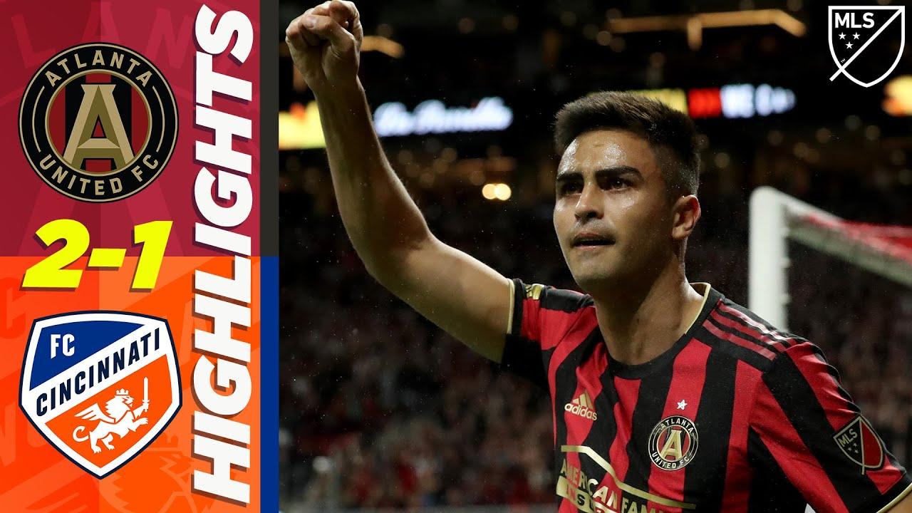 Atlanta United FC 2-1 FC Cincinnati   Pity, Barco Combine for Win, Kubo Great Goal   MLS Highlights