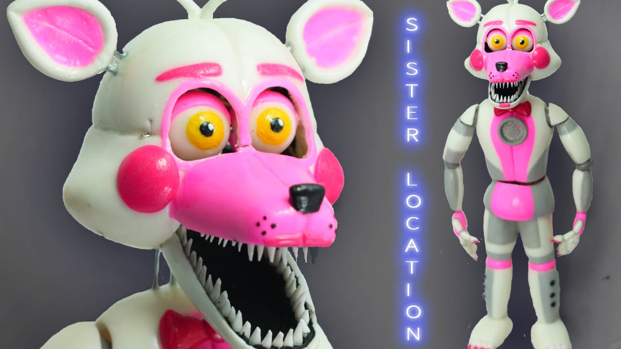Funtime Foxy Quot Tutorial Quot Porcelana Fria Polymer Clay