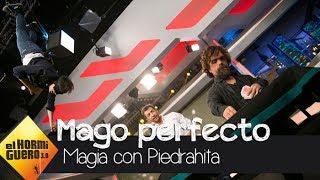 Luis Piedrahita descubre las habilidades de un perfecto mago - El Hormiguero 3.0