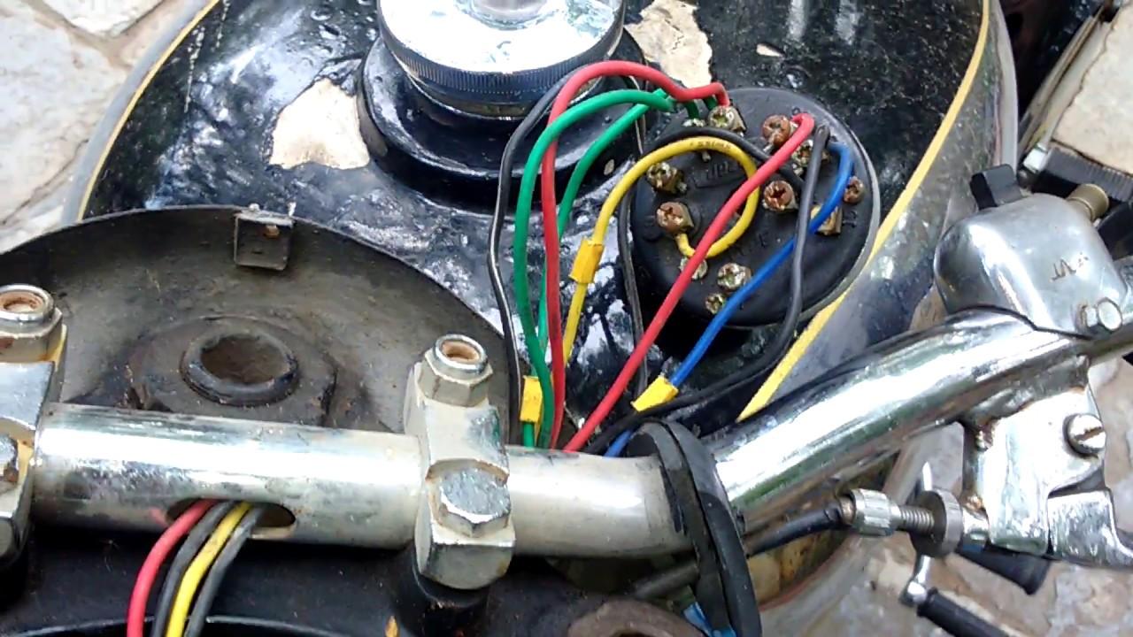how to fix yezdi and jawa ignition switch wiring yezdi spares 9491220222  [ 1280 x 720 Pixel ]