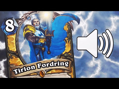 All Hearthstone Legendary Play Sounds! (Entrance Quotes, Sound Effects & Music)
