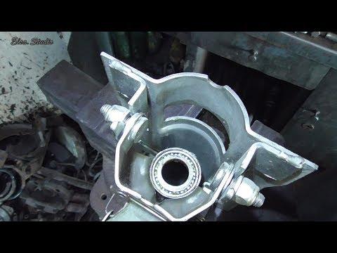 Замена подшипников рулевого вала ВАЗ 2112