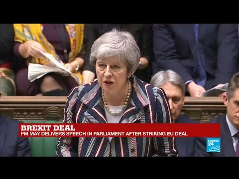 May addresses MPs concerns about the Irish backstop
