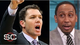 Luke Walton is a guaranteed goner if the Lakers miss NBA playoffs - Stephen A. Smith | SportsCenter