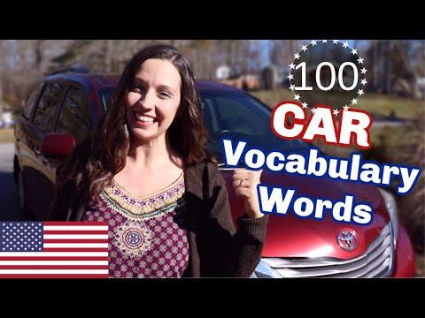 100 Car Vocabulary Words: Advanced English Vocabulary Lesson