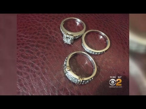 Woman Finds Lost Wedding Rings In Town Dump 2 Months After Similar Incident