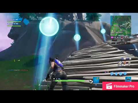 How to complete the time trial east of Snobby Shores!! Fortnite