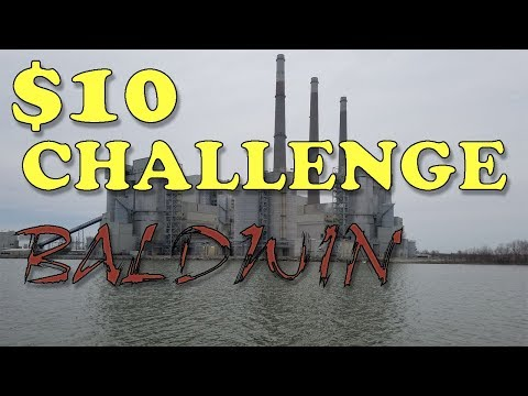 $10 Husband Wife Fishing Challenge 2018 - Baldwin Lake Illinois