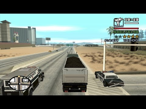 GTA San Andreas - Trucking Mission #8 - Highly Illegal Goods To Rockshore East, Las Venturas