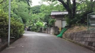 妙見寺の坂