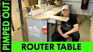 Automated Router Table (Pimped-Out)