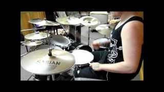 We butter the bread with butter - Mayday Mayday drum cover