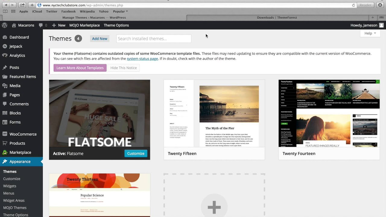 How to Update Your Wordpress Theme (third party theme - Flatsome ...