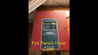 Scrapping a Fire Alarm Panel for Gold and other metals -Moose Scrapper