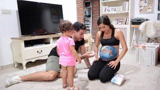 ME PINTAN la BARRIGA! NO VAN A CREER LO QUE HIZO mi BEBE (embarazada 30 semanas)